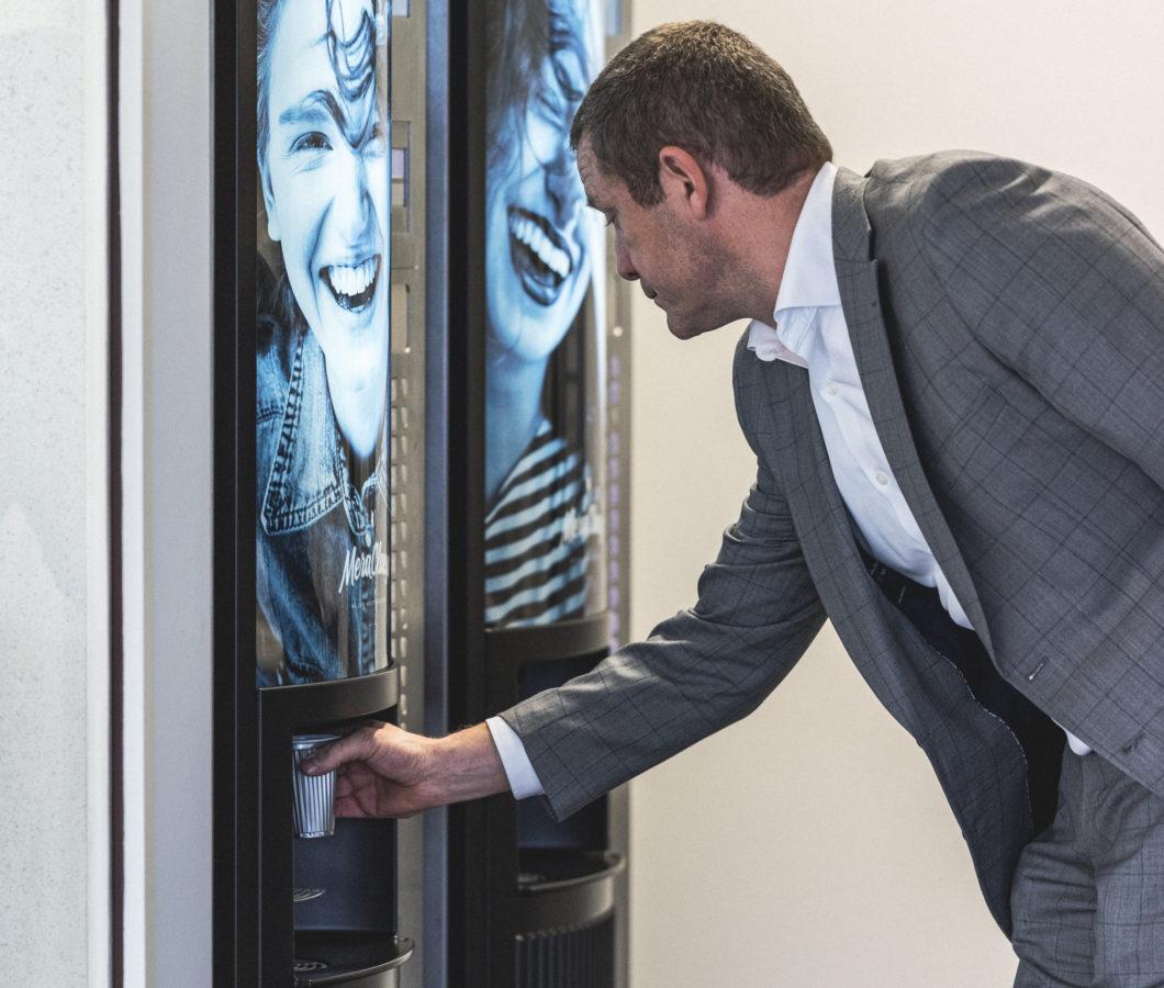 Automaten zijn belangrijk voor de tevredenheid van ons personeel
